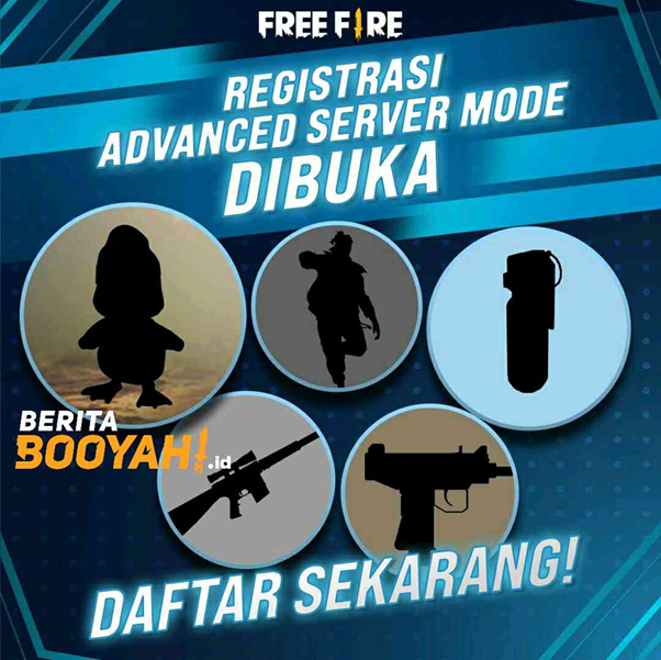 Two Advantages by Join the Free Fire Advance Server