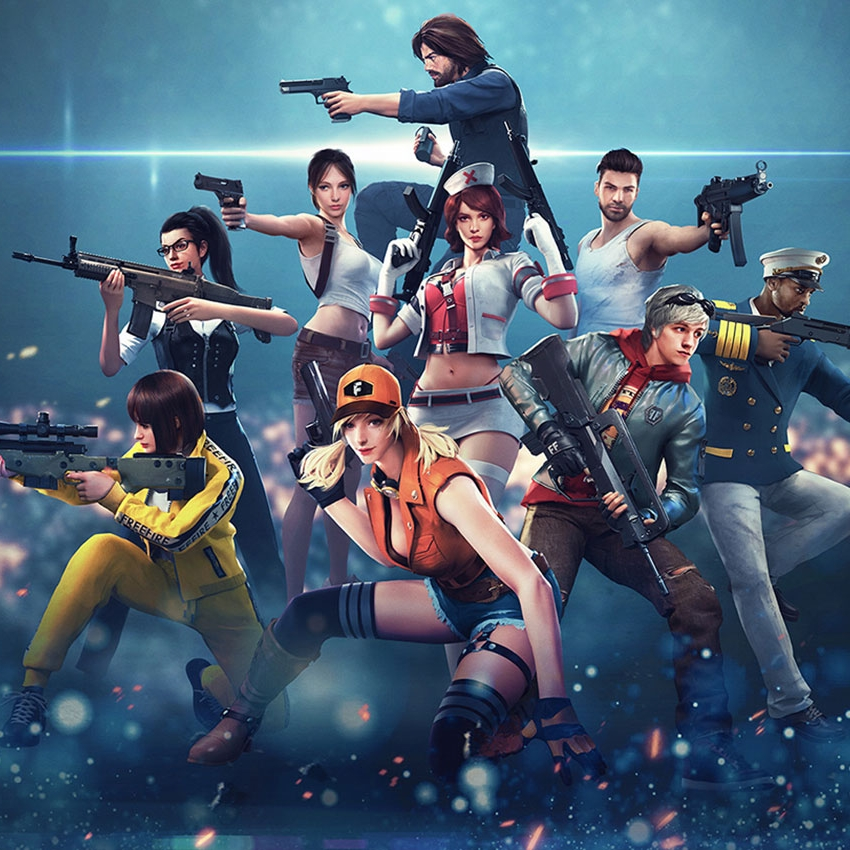 SHOTGUNS, POPULAR WEAPONS ON FREE FIRE BUT NOT WITH OTHER BATTLE ROYALE!