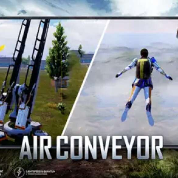 PUBG Mobile Has a New Feature Called Air Conveyor!