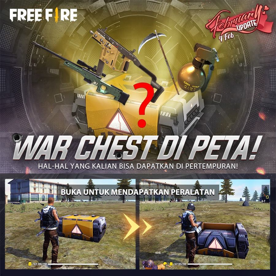 War Chest, Item Targeted by Gamers on Free Fire Game!