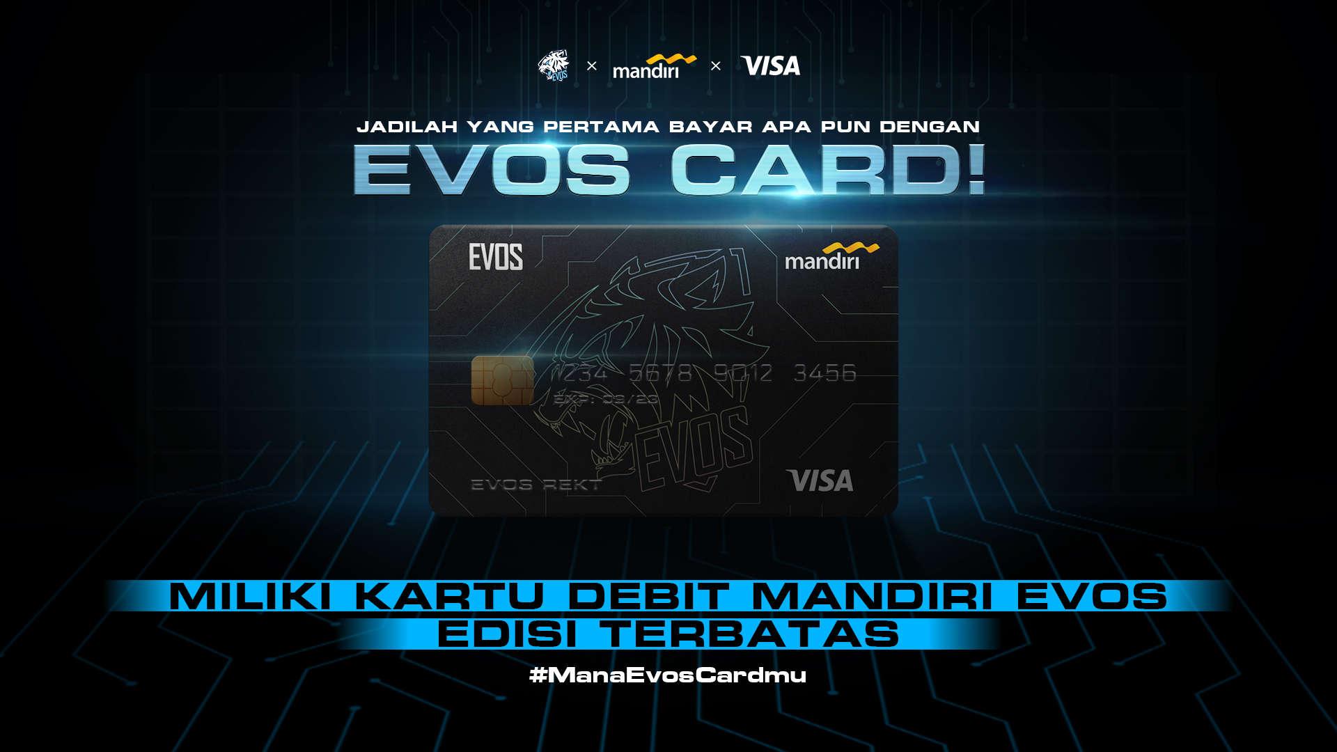 EVOS Esports X Mandiri X VISA