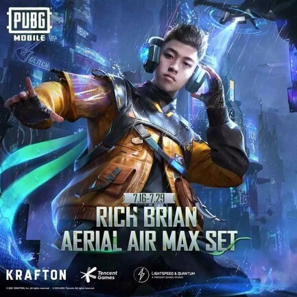 Official Collaboration With Rich Brian, PUBG Mobile Presents Special Items